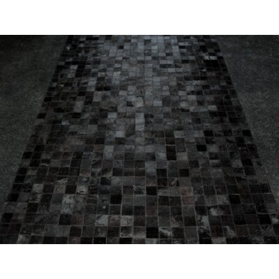 Patchwork Abyss Black Area Rug Rug Size: Rectangle 6 x 9