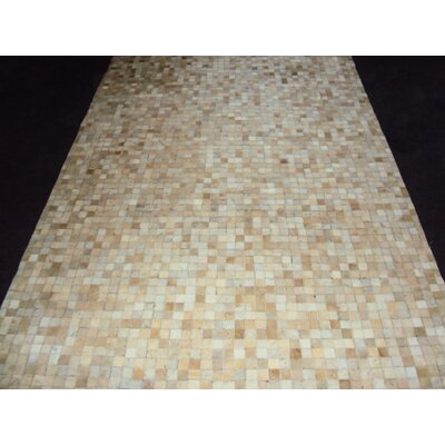 Patchwork Static Neutral Area Rug Rug Size: Square 6
