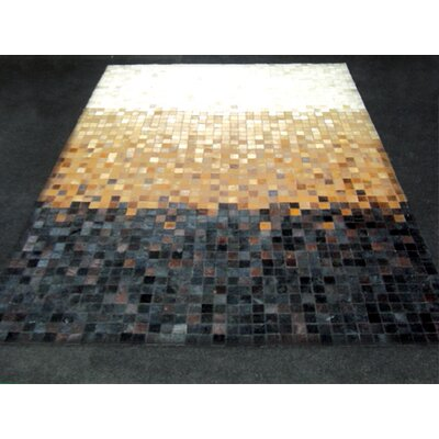 Patchwork Gradient Multi-colored Area Rug Rug Size: Square 6