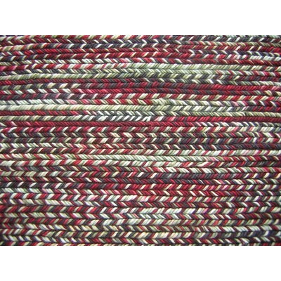 Fishtail Rgo Multi-colored Area Rug Rug Size: 5 x 7