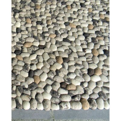 Pebbles Beige Area Rug Rug Size: Rectangle 9 x 12