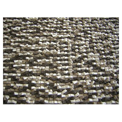 Cobblestone Beige Area Rug Rug Size: Rectangle 6 x 8