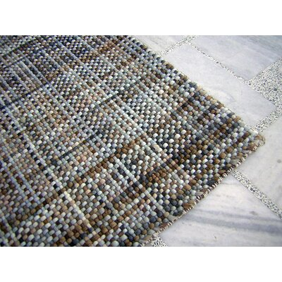 Ripple Aqua Area Rug Rug Size: Rectangle 9 x 12