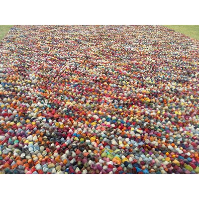 Vista Multi-colored Area Rug Rug Size: Round 5