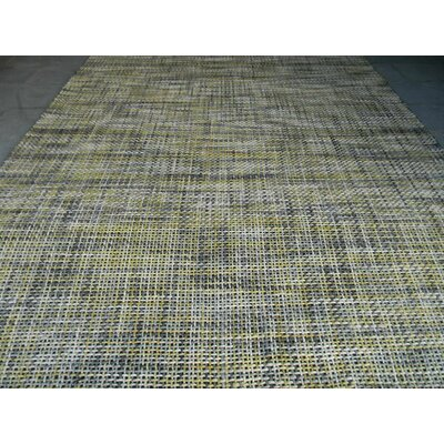 Drift Yellow Area Rug Rug Size: 9 x 12