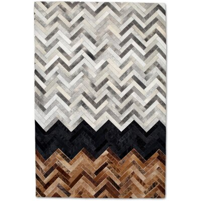 Gray Area Rug Rug Size: Rectangle 8 x 10