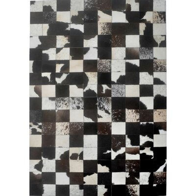 Black Area Rug Rug Size: Rectangle 8 x 10
