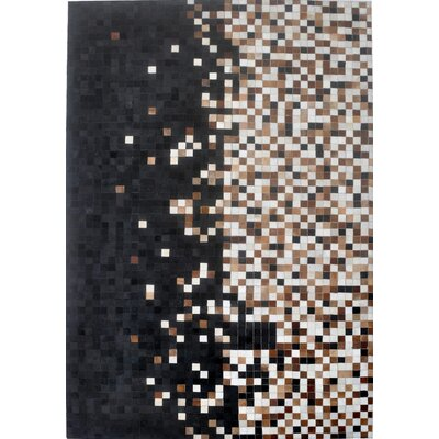 Brown Area Rug Rug Size: Rectangle 6 x 9