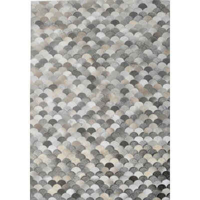 Gray Area Rug Rug Size: Rectangle 5 x 8