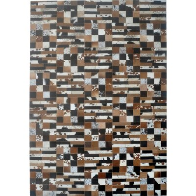Brown Area Rug Rug Size: 6 x 9