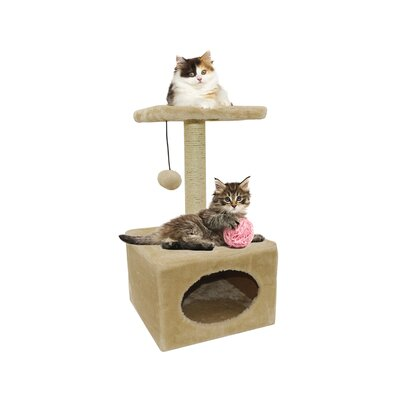22 Traditional Cat tree and Condo
