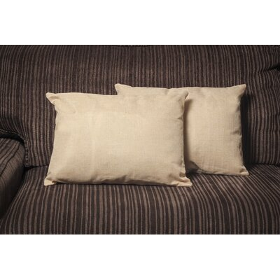 Gatling Rectangle Throw Pillow Color: Cream