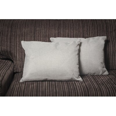 Gatling Rectangle Throw Pillow Color: Gray