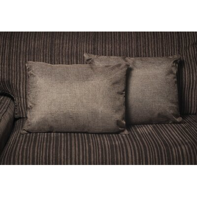 Gatling Rectangle Throw Pillow Color: Brown