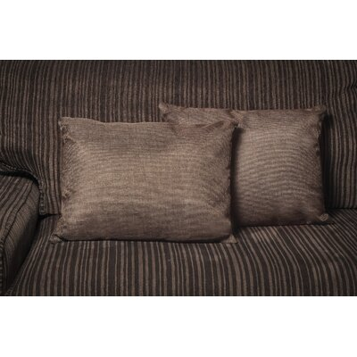 Gatling Rectangle Throw Pillow Color: Dark Brown