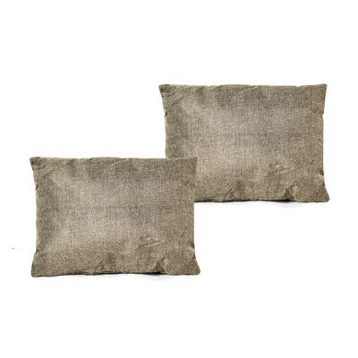 Gatling Rectangle Throw Pillow Color: Olive Green