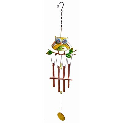 Owl Wind Chime 12891B