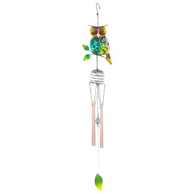 Owl Wind Chime 10003D