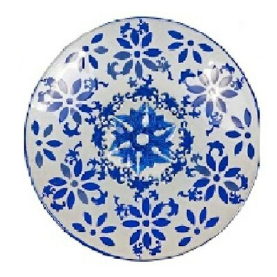Flower Glass Plate