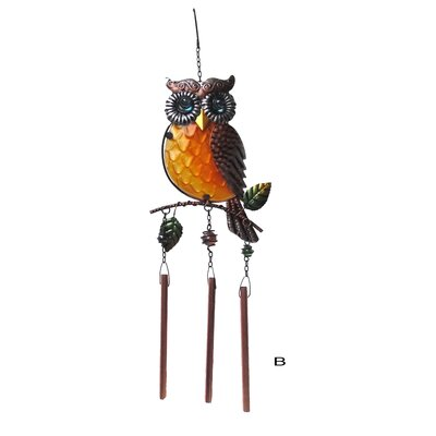 Owl Wind Chime 80210B
