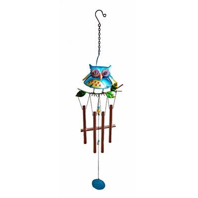 Owl Wind Chime 12891C