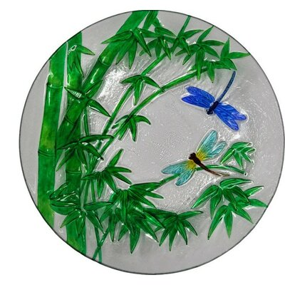 Bamboo and Dragonflies Plate