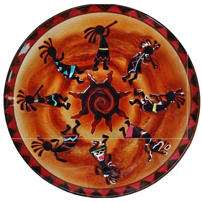 Kokopellis Glass Plate