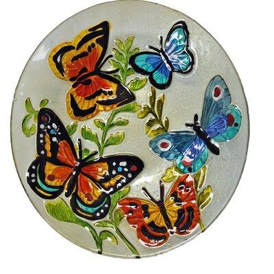 Butterflies Glass Plate
