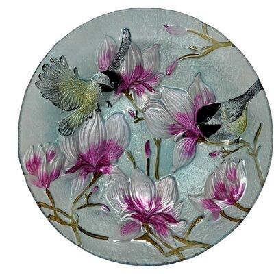 Chickadee Glass Plate