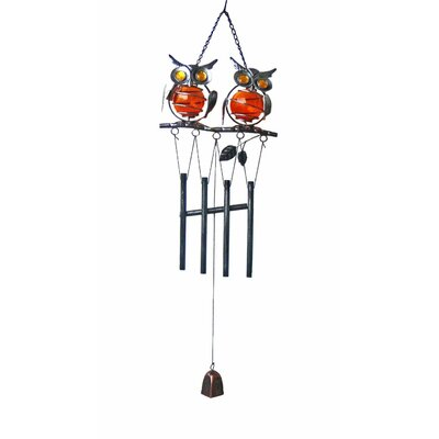 2 Owl Wind Chime 80374