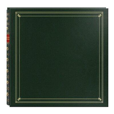 Book Album Color: Hunter Green