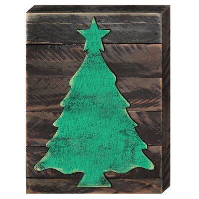 Christmas Tree Wooden Wall Décor