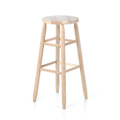 Lincoln 30 Bar Stool Finish: Unfinished
