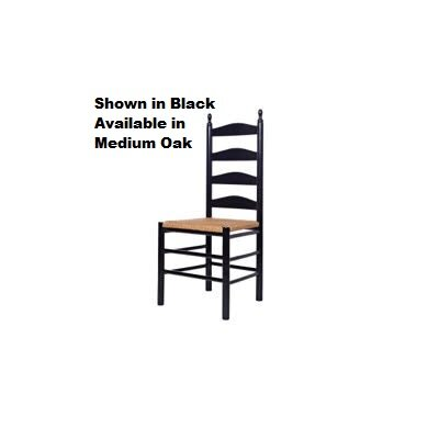 Maiden Side Chair Finish: Black