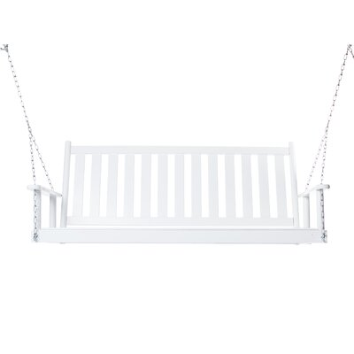 Asheboro Porch Swing Finish: White