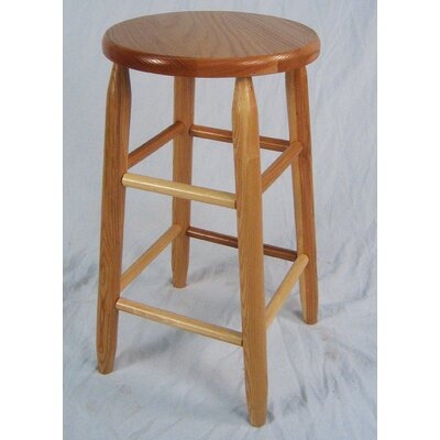 Lincoln 24 Bar Stool Finish: Natural
