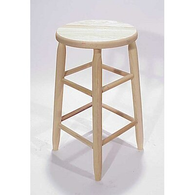 Lincoln 24 Bar Stool Finish: Unfinished