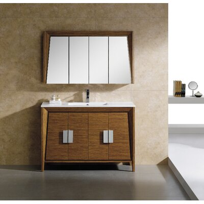 Imperial II 48 Single Bathroom Vanity Set Base Finish: Wheat