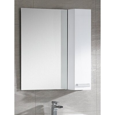 Kasen 34.76 x 31.5 Surface Mount Medicine Cabinet Finish: White