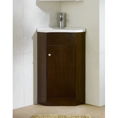 Englewood 22 Single Bathroom Vanity Set Base Finish: Wenge