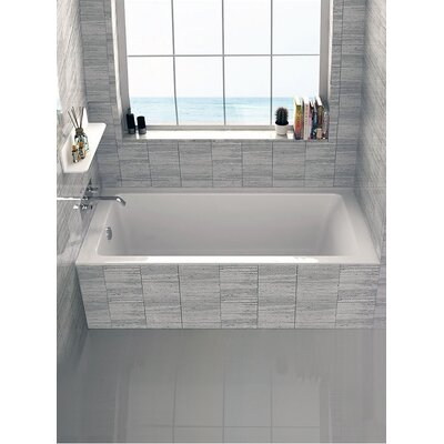 Alcove 32 x 66 Bathtub Drain Location: Left