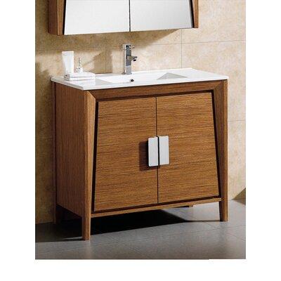 Imperial II 36 Single Bathroom Vanity Base Finish: Wheat