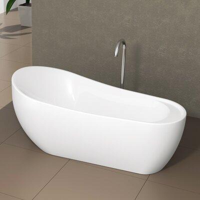 Freestanding Oval 24 x 71 Bathtub