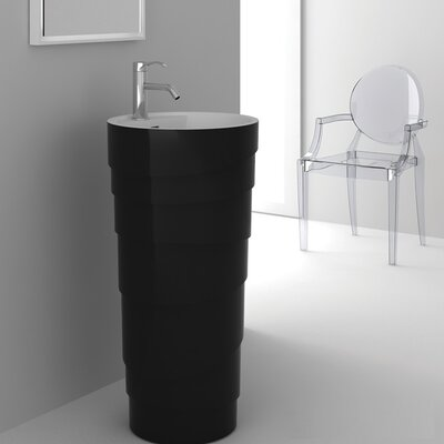 Rockview Black Pedestal