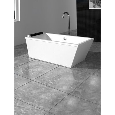 Large Freestanding 24 x 75 Bathtub