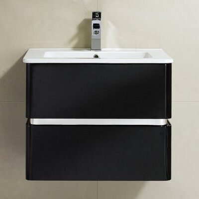 Sundance 24 Single Vanity Set Base Finish: Black