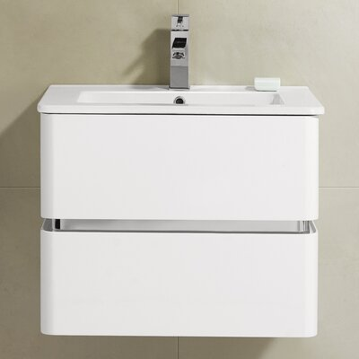 Sundance 24 Single Vanity Set Base Finish: White