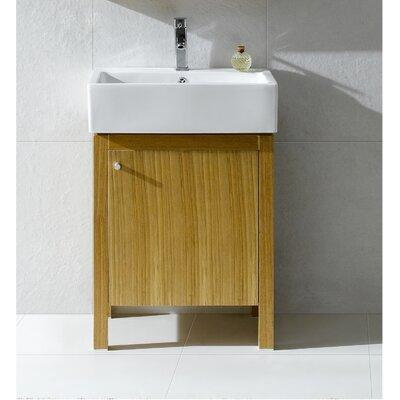 Imperial 24 Single Bathroom Vanity Set Base Finish: Light Maple