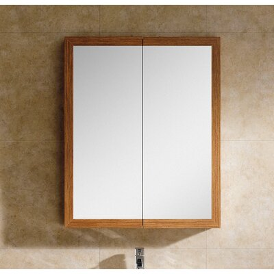 Manchester 27.5 x 33.5 Surface Mount Medicine Cabinet Finish: Wheat