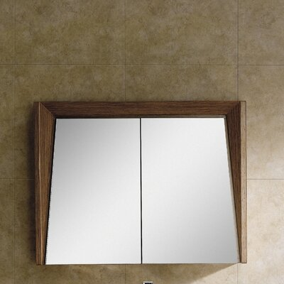 Imperial II 35.5 x 27.13 Surface Mount Medicine Cabinet Finish: Wheat